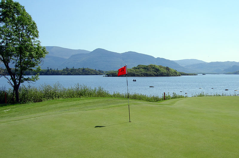 Golfing in Kerry